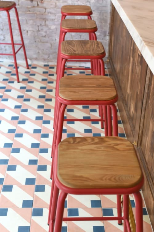 Tiles by Dekar Design seen at Roey's, New York - Naples Coral Tile