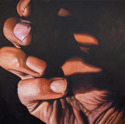 Paintings by Andrew Ramiro Tirado seen at Andrew Ramiro Tirado Studio, Colorado Springs - Librari