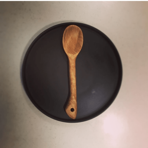 Utensils by Handmades by Honkey seen at Private Residence, Monterey - Handmade Wooden Spoon