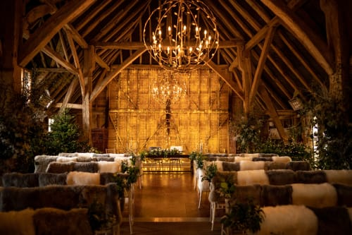 Lighting Design by VILLAVERDE London seen at Kent - WEDDING VENUE