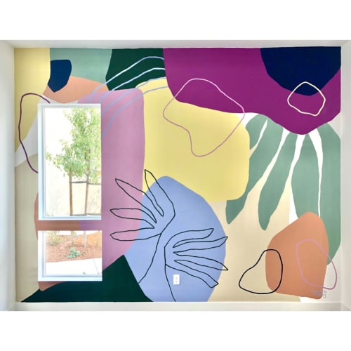 Murals by Fernanda Martinez - LA TINTA seen at Private Residence, Richmond - Residential Mural
