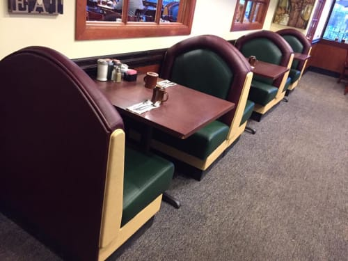 Couches & Sofas by Phillip Ramos Upholstery, Inc. seen at McCoy's Restaurant, Denver - Seating Upholstery