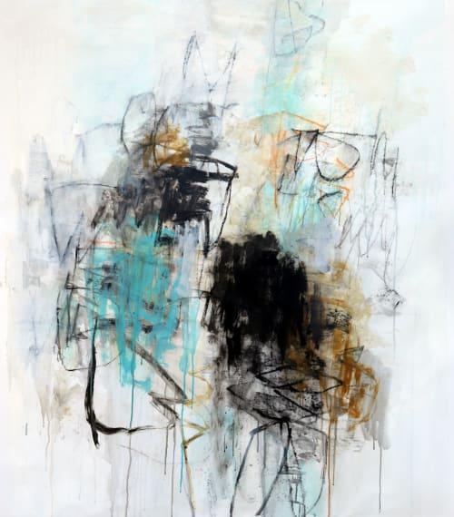 Paintings by Julie Schumer seen at Creator's Studio, Santa Fe - The Sand Beneath My Feet
