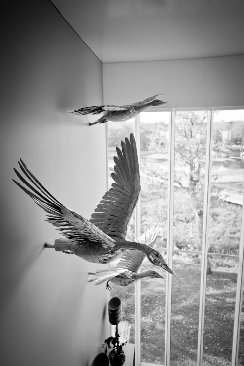 Interior Design by Michael Turner Studios seen at New Forest National Park - Flying Geese