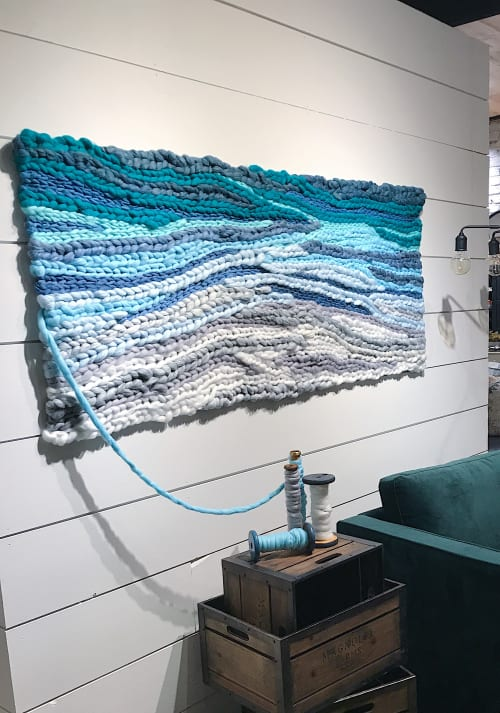 Wall Hangings by Emily Barton (Barton Craft & Design) seen at High Point, High Point - Braided Woven Wall Hanging
