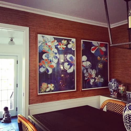 Paintings by Jodi Fuchs seen at Private Residence, New Rochelle - Giclee prints