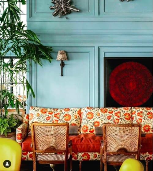 Interior Design by The Raj Company seen at Soho House Mumbai, Mumbai - Soho House Mumbai