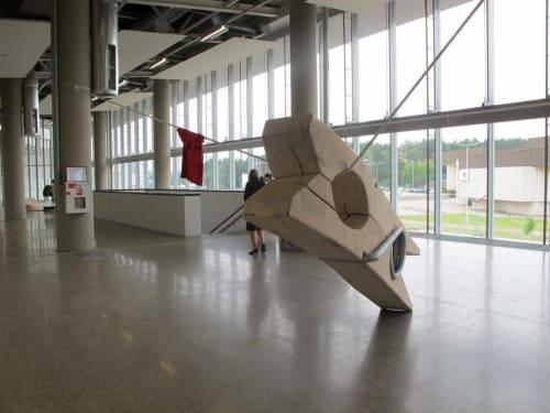 Public Sculptures by Andrius Petkus seen at Private Residence, Hampton - Corrida