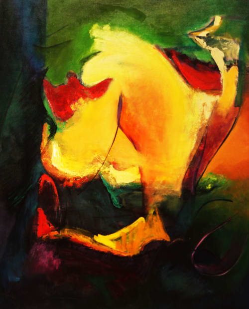 Paintings by Cecilia Arrospide at Private Residence, Miraflores, Comas, Comas - PRISMA SOBRE PRISMA