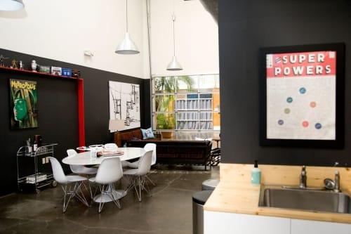 Interior Design by Kathleen Hayes Design seen at Millions of Tiny Robots, Ltd., Atlanta - Interior Design