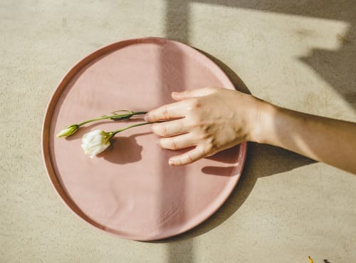 Ceramic Plates by SIND STUDIO seen at De Maria, New York - Colorful Porcelain Plates