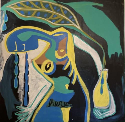 Presence | Paintings by Paula Gasparini-Santos | Boulder Museum of Contemporary Art in Boulder