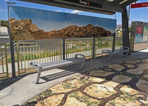 Photography by Ken Gonzales-Day seen at Canoga Station, Los Angeles - Western Imaginary