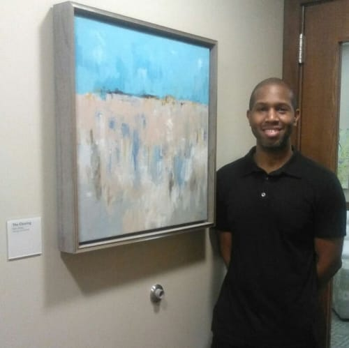Paintings by Keith Doles seen at Baptist Medical Center Jacksonville, Jacksonville - The Clearing