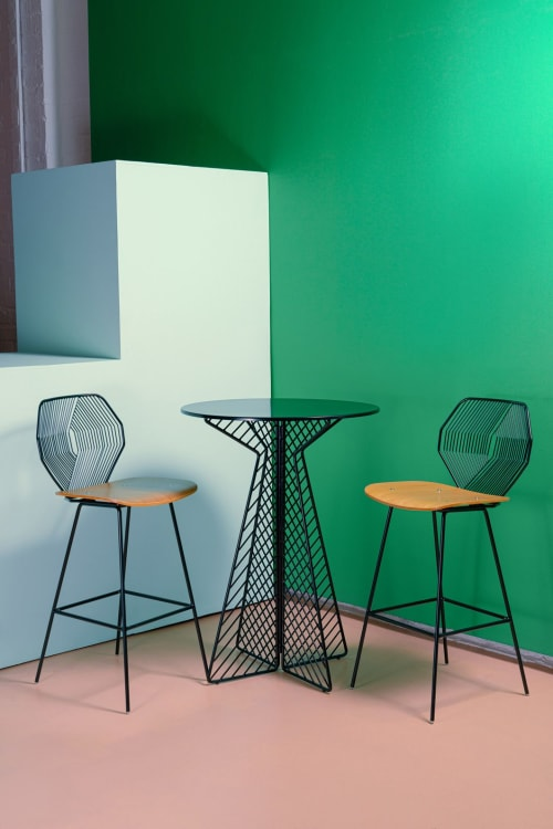 Wood & Wire Bar Stool | Chairs by Bend Goods