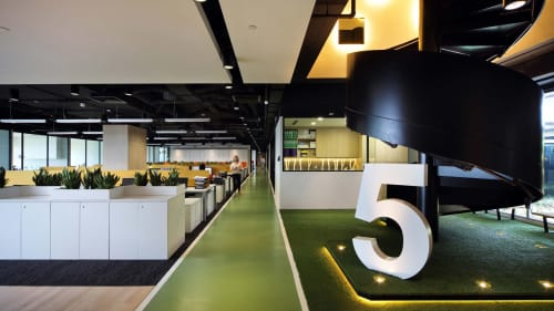 Interior Design by TRAARTGROUP seen at Singapore - HSL Waterfront Office