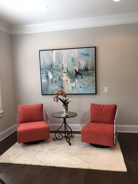 Art Curation by Victoria Jackson seen at Private Residence, Atlanta, Atlanta - Private Residence