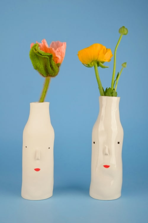 Vases & Vessels by Rachel Sender - ceramics seen at Private Residence, Rotterdam - Pothead