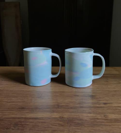 Nerikomi Mugs | Cups by Renee's Ceramics