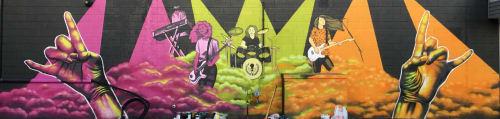 School of Rock   Murals by Atelier Fu'una