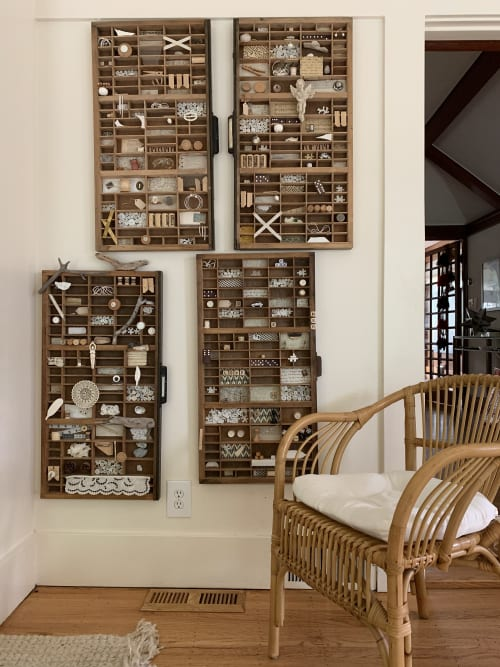 Interior Design by Paula Valenzuela Art seen at Private Residence, Piedmont - Natural