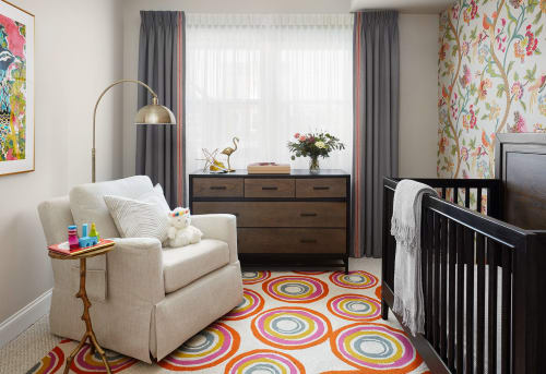 Interior Design by Paula Interiors seen at Private Residence -  Chicago, IL, Chicago - Nursery