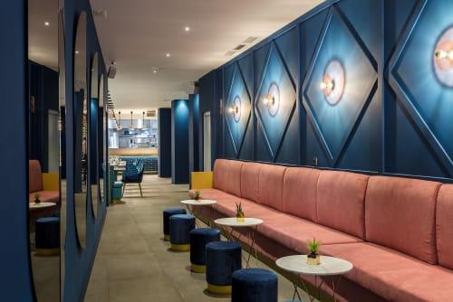 Interior Design by Peanut Design Studio seen at Escena Valencia Restaurante & Night Club, València - Escena restaurant
