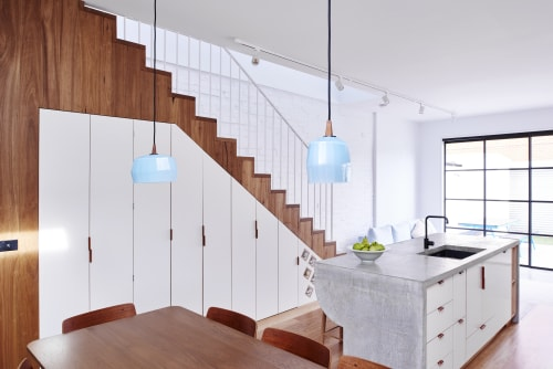 Pendants by TOKENLIGHTS at High House Fitzroy, Fitzroy North - ZEP POLY POP Pendants in High House