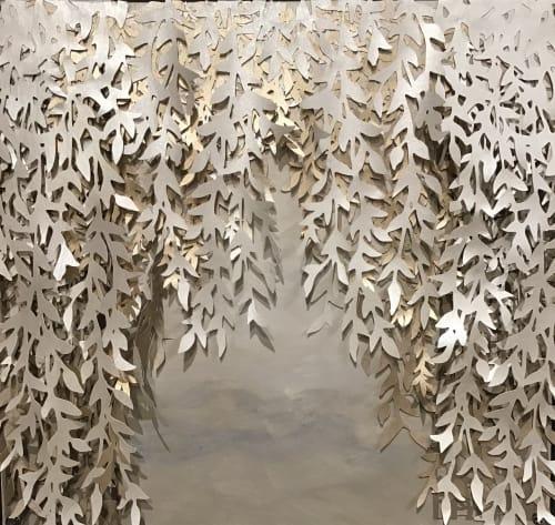 Wall Treatments by Elan Evans seen at SF Decorator Showcase 2019, San Francisco - Ceiling and Wall Art