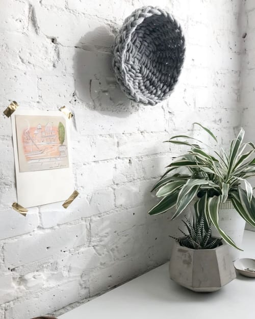 Art & Wall Decor by Flax & Twine seen at Private Residence, Denver - Twined Woven Bowl