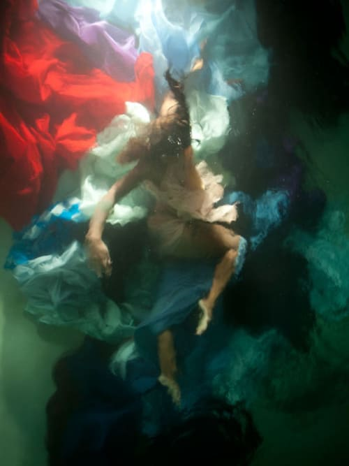"""Photography by Christy Lee Rogers at Private Residence, Cincinnati - """"The Heart is a Lonely Hunter"""" Underwater Baroque"""