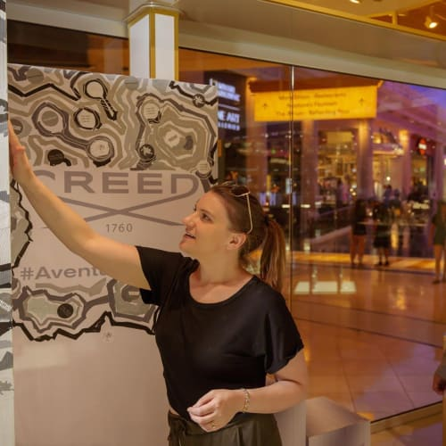 Murals by Jerry Misko seen at Creed Boutique Las Vegas, Las Vegas - Creed Mural