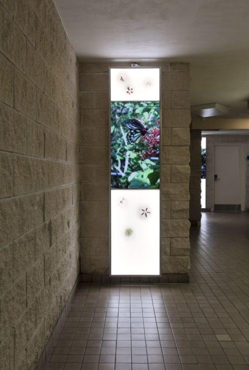 Art & Wall Decor by Sri Prabha Artlab seen at Broward County Governmental Center, Fort Lauderdale - The Joys of Broward Illuminated