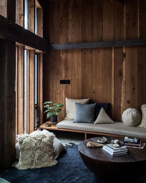 Interior Design by SALT + BONES seen at Fritz House at Esalen Institute, Big Sur - Interior Design