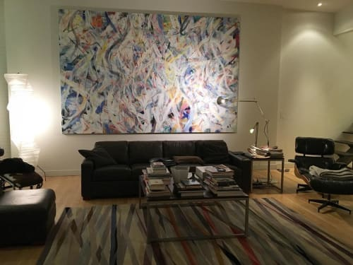 Paintings by Doug Argue seen at Private Residence, New York - Away from the Rain