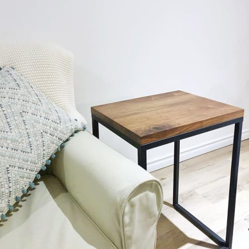 Tables by Wood by Nate seen at Private Residence, Toronto - The LOU