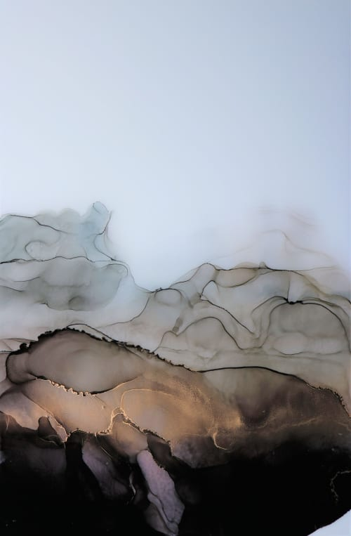 'OYSTER II' | Paintings by Christina Twomey Art + Design