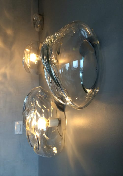 Sconces by Jess Wainer seen at Private Residence, San Francisco - Rocks