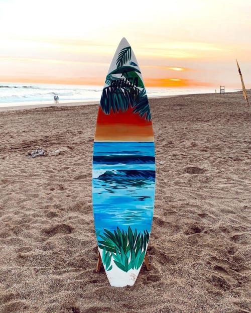 Paintings by Sofia Moonchild seen at Arenas Verdes, Arenas Verdes - Surfboard Art