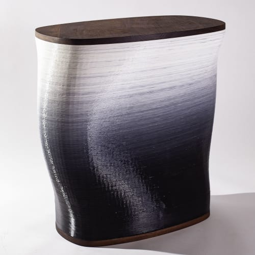 Tables by Model No. Furniture seen at Wescover Gallery at West Coast Craft SF 2019, San Francisco - 117 Side Table: Bedside