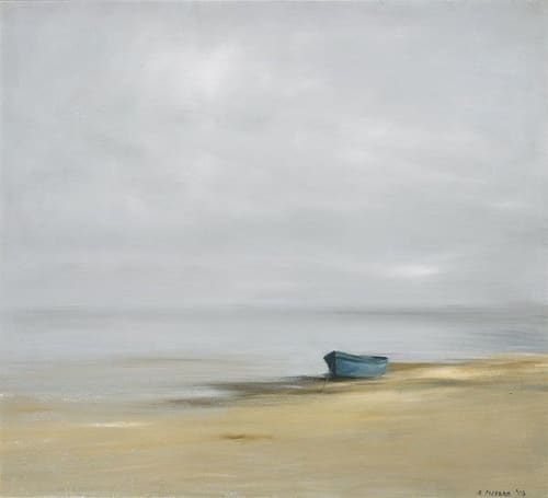 "Art & Wall Decor by YJ Contemporary seen at East Greenwich, East Greenwich - Anne Packard ""Blue Dory"""