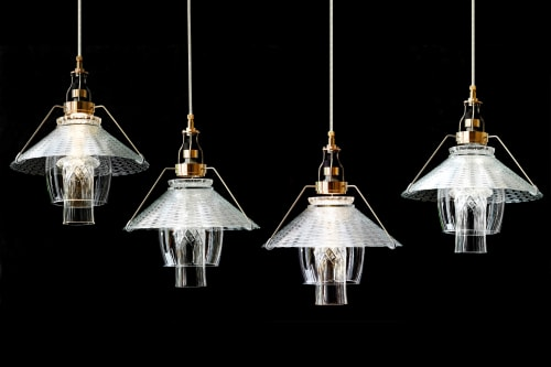 Pendants by Vitro Lighting Designs seen at Boston, Boston - Pendant Flank 14 B