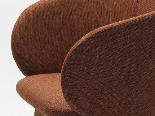 Chairs by Mentsen seen at Best Western Plus Grow Hotel, Huvudsta - Nasu armchair