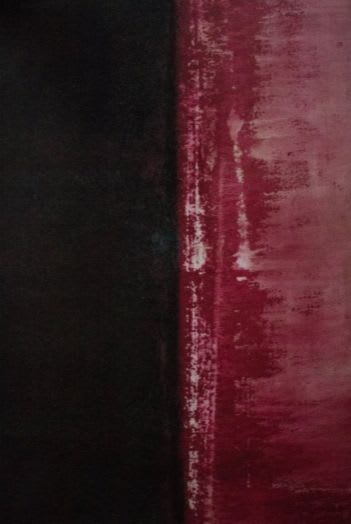 Paintings by Arran Rahimian seen at Private Residence, London - 'Autumn 1' and 'Autumn 2'