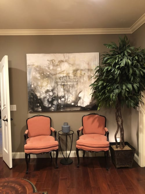 Paintings by The Mink Gallery seen at Horseheads Residence, Horseheads - Erasures I