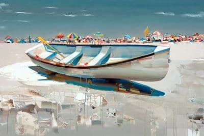 "Art & Wall Decor by YJ Contemporary seen at East Greenwich, East Greenwich - Josef Kote ""Sunny Days"""
