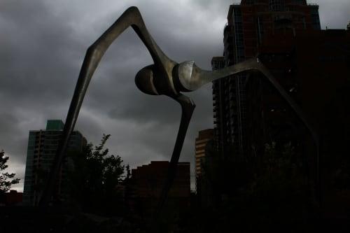 Public Sculptures by INCIPIO MODO seen at 4th Avenue & 9th Street, Newport - Ascension