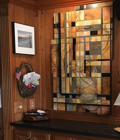 Paintings by Kim Howes Zabbia seen at Private Residence, Ponchatoula - Trapped