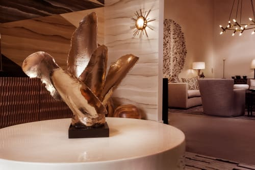Sculptures by Ron Dier Design seen at Townhouses, Scottsdale, AZ, Scottsdale - Ayer's Wing Sculpture