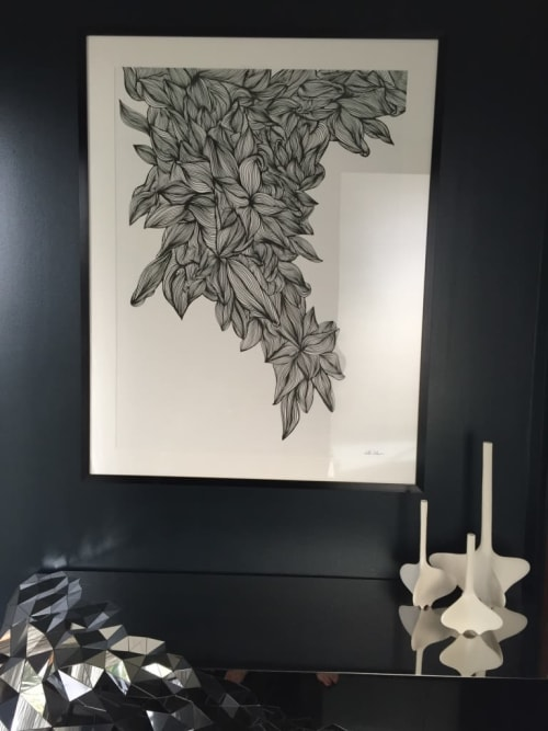 Paintings by Catherine Détraves seen at Private Residence - Manhattan Beach, CA, Manhattan Beach - Tree of Life 1